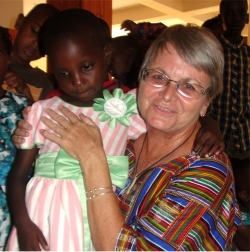 Jenny at Hope Child Care Centre childrens church bringing hope for orphans refugee street children girl soldiers and abused girl