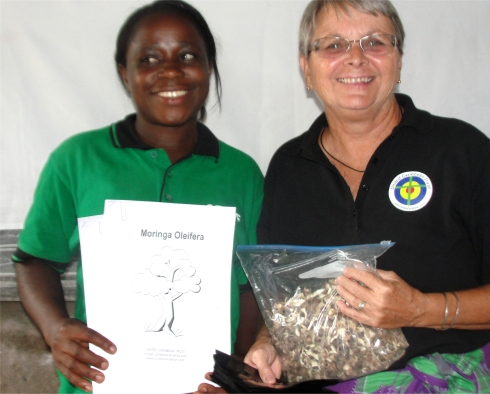 Bundibugio Moringa School Community Pilot Project