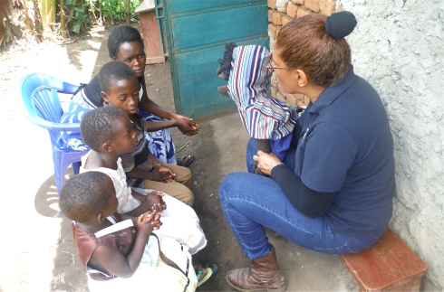 United Caribbean Trust Mission trip to Africa introducing the Moringa childrens curriculum