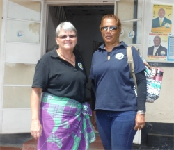 Jenny Tryhane the founder of UCT was joined by Lisa Gardier, the Vice Chair of UCT, on a six week mission trip to Africa in September 2015.