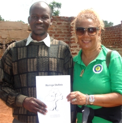 The African Community Moringa Project was introduced to the teachers in the Busia school