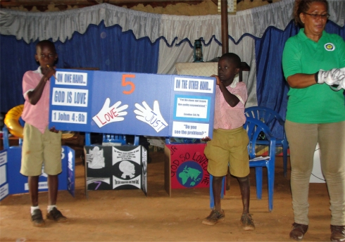 Busia childrens evangelism