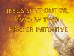 Here we introduced the Jesus sent our 70 two by two prayer assignment