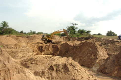 The Africa Bureau of Children's Development  (ABCD) has established  a Ugandan Land Sand Mining Business