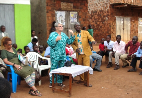The Africa Bureau of Children's Development  (ABCD) village meeting