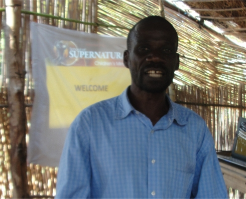 Pastor William at Uluwa ATBS Malawi's Pastor seminar child evangelism and Moringa Community Project training