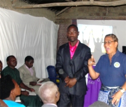 30 Pastors attended the training seminar