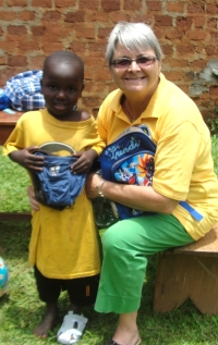 Thanks to Auntie Kim who extended her Suriname - Aid into Africa, providing not only relief aid for the Bush Negro community in Suriname but our children in the Hope Child Care Centre.