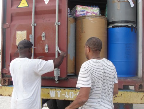 United Caribbean Trust Hurricane Irma relief aid to Antigua and Barbuda