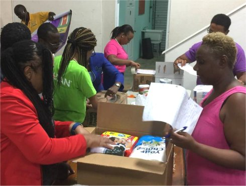 The Regional Exchange Apostolic Leadership Network partnering with United Caribbean Trust Hurricane Irma relief aid to Antigua