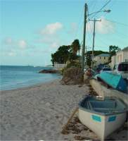 Speightstown, the island's northern-most town,