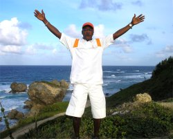 Brother Graham from Dr Creflo Dollar's World Changers Ministry visits Barbados