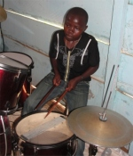 God gave her a young drummer that worked with her during the mass deliverance and was truly anointed of God.