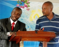 Pastor Abraham and his translator