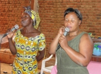 Pastor Martina traveled to DR Congo to act as the main translator for Jenny during the Beni KIMI Leadership Training.