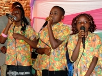 The children in this new Watoto Hope PowerClub are all from the Watoto Hope Children's Choir.