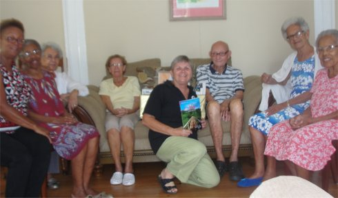 Love Packages donated to Barbados Nursing Homes by Eagles Nest Ministries