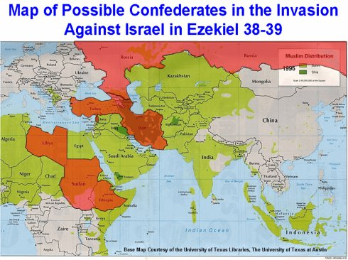 A Russian/Turkish coalition consisting mainly of Muslim 
