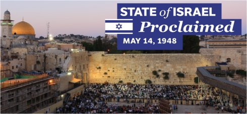 The state of Israel will be re-established