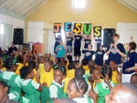 Grace  Christian Academy in Barbados on a Mission Holiday
