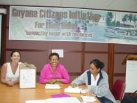 "United Caribbean Trust working with  the  Guyana Citizens"" Initiative for Flood Relief,(GCIFR)"