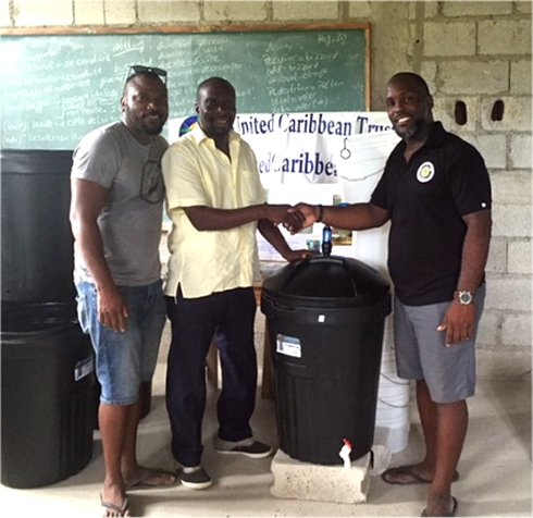 Haiti Mission trip Montrouis water filter distribution to help survivors of Hurricane Matthew in Haiti with Sawyer filtered clean water as fears of an increase in cholera cases grow