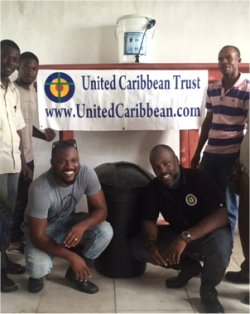 To God be the glory, thanks to our Barbadian sponsors - donations from companies in Barbados
