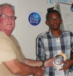 Phil distributed the Luci® 