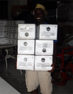 Pastor Dresner received his 6 