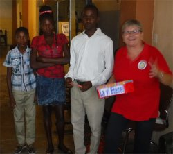 United Caribbean Trust Mission trip to introduce the Follow Me children's curriculum