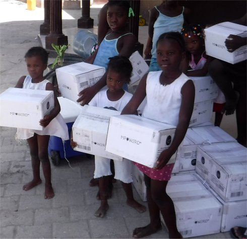 United Caribbean Trust working with Living Room Haiti Development Fund 2017 Mission trip to Yolanda Thurvil Foundation