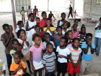 Thanks to the Power in the Blood church in Barbados that send donations enabling us to bless these children at Maranatha Ministries in St. Marc.