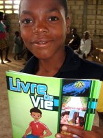 Thanks to the Haiti Bible Society that gave us 3000 Book of Hope that we were able to distribute all over Haiti.