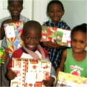 Make Jesus Smile shoebox distribution