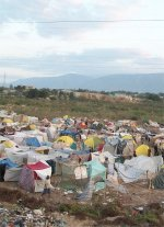 Following the January 2010 Haiti earthquake millions of people in Haiti are still living in tents