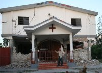 Haiti churches destroyed by the earthquake