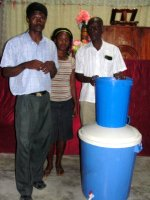 Sawyer PointOne water filter distribution in Les Martinier