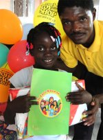 The Bible Society of Haiti donated 2000 Book of Ho