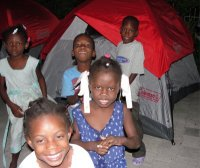 This is testimony to the resiliance of the Haitian children.