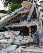 Haiti hit by massive earthquake Port au Prince destroyed schools