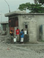 The people of City Soleil cry out for help to bring them clean water.