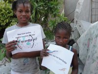 Kids' EE  Haiti earthquake survivors