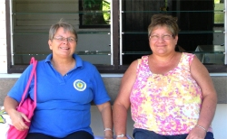 Kim Smith joined Jenny on the Suriname 2013 mission trip.