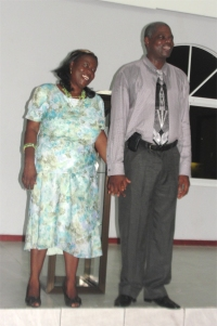 Apostle Iwan, seen here with Pastor Cheryl his wife, is the leader of the ECS (Evangelic Centre Suriname) group of churches in South America