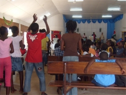 The third 1/3rd will go towards funding the week long Vocational Bible School held every summer