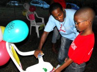Kids EE at Friendship Community Outreach