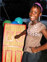 The Barbados Kids EE team started the Friendship Community Outreach with the Scripture Fun Fair