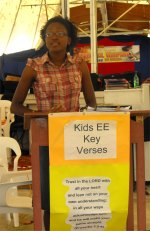 Its also a great time to introduce the children to the Kids EE Key Verse