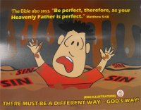 """There must be a different way ... God's way"""