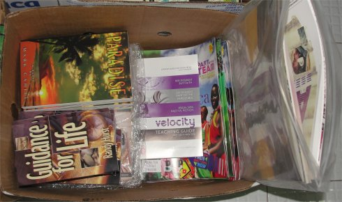 Love Packages donated to Barbados schools by Eagles Nest Ministries